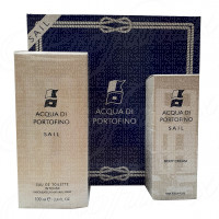 ACQUA DI PORTOFINO SAIL GIFT SET 100ML SPRAY EAU DE TOILETTE INTENSE + BODY CREAM 100ML