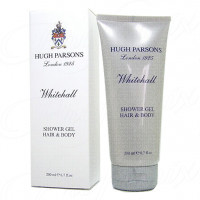 HUGH PARSONS WHITEHALL 200ML HAIR & BODY SHOWER GEL