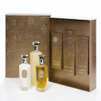 GIFT SET LORENZO VILLORESI FIRENZE ATMAN XAMAN 100ML SPRAY EDT + AFTERSHAVE BALM 100ML + BATH & SHOWER GEL 250ML
