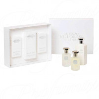 LORENZO VILLORESI FIRENZE TEINT DE NEIGE COFANETTO REGALO 50ML EDT + LOZIONE CORPO 250ML + HAIR MIST 50ML